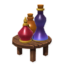 Table with Potions
