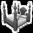 Fancy Stone Bed