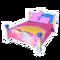 Colourful Splatter Bed
