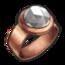 Copper Diamond Ring