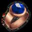 Copper Sapphire Ring
