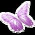 Purple Butterfly Glider