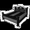 Modern Black Bed