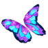 Crystals Butterfly Glider