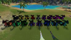 Kozita Dark Dragon Group Front Wufflit
