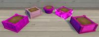 Pink Furniture Brush Examples