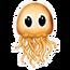 Gold Jellyfish