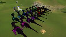 Kozita Dark Dragon Group Back Wufflit