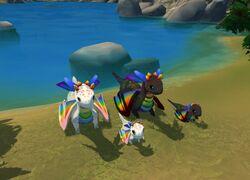Kozita Rainbow Dragon Katnip