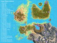 Kozita Dragon Statue Map