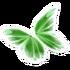 Light Green Butterfly Glider