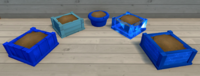 Blue Furniture Brush Examples