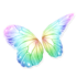 Rainbow Butterfly Wings (Pastel)