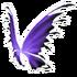Black Purple Fairy Wings