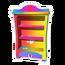 Rainbow Paw Bookcase