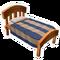 Light Wood Single Bed