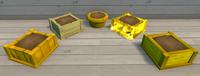 Yellow Furniture Brush Examples