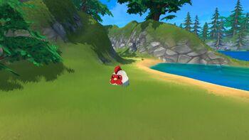 Legendary Chicken on Penguin Island