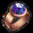 Copper Mystic Quartz Ring