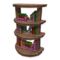 Rounded Bookcase