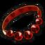 Silver Garnet Necklace
