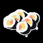 Sushi Golden Rainbow
