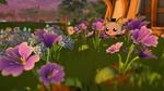 Garden Paws - Purple Cosmos Garden
