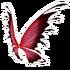 Red Black Fairy Wings