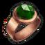 Copper Emerald Ring