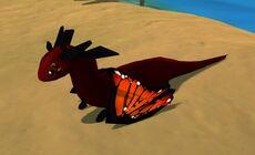 Summer Dragon Monarch by Katnip