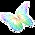 Rainbow Butterfly Glider
