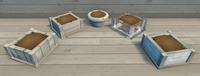 White Furniture Brush Examples