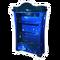 Blue Galaxy Bookcase