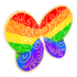 Rainbow Swirl Wings