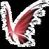 Black Red Fairy Wings