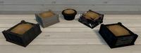 Black Furniture Brush Examples