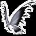 Black White Fairy Wings