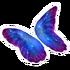 Galaxy Butterfly Glider