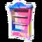 Colourful Splatter Bookcase