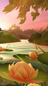 Garden Paws - Lily Pond MobileBG