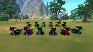 Kozita Dark Dragon Group Front katiec