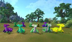 Kozita Summer Dragon Group Front katiec