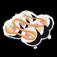 Sushi Rainbow Jellyfish