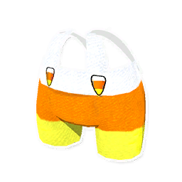 Candy Corn Overalls
