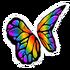Butterfly Rainbow Wings
