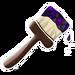 Dark Colourful Shingles Paintbrush