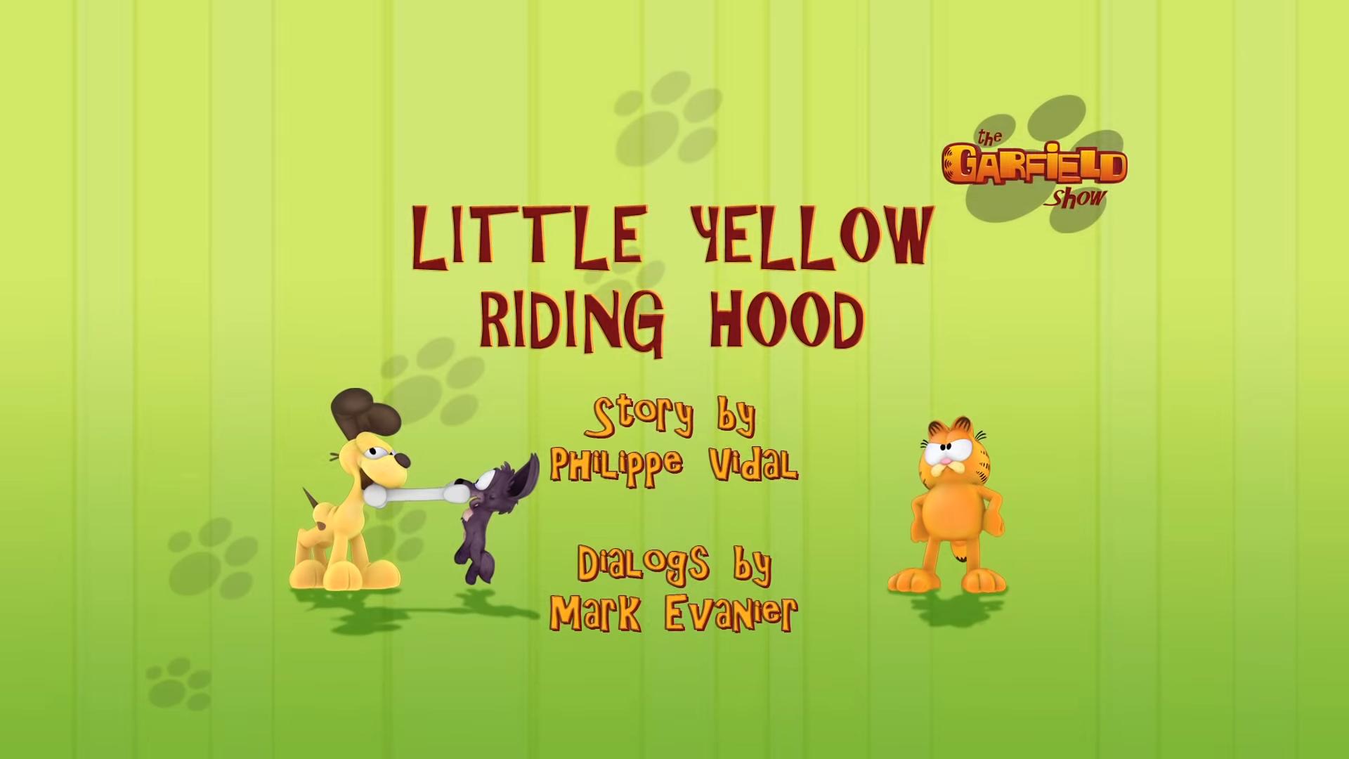 Little Yellow Riding Hood