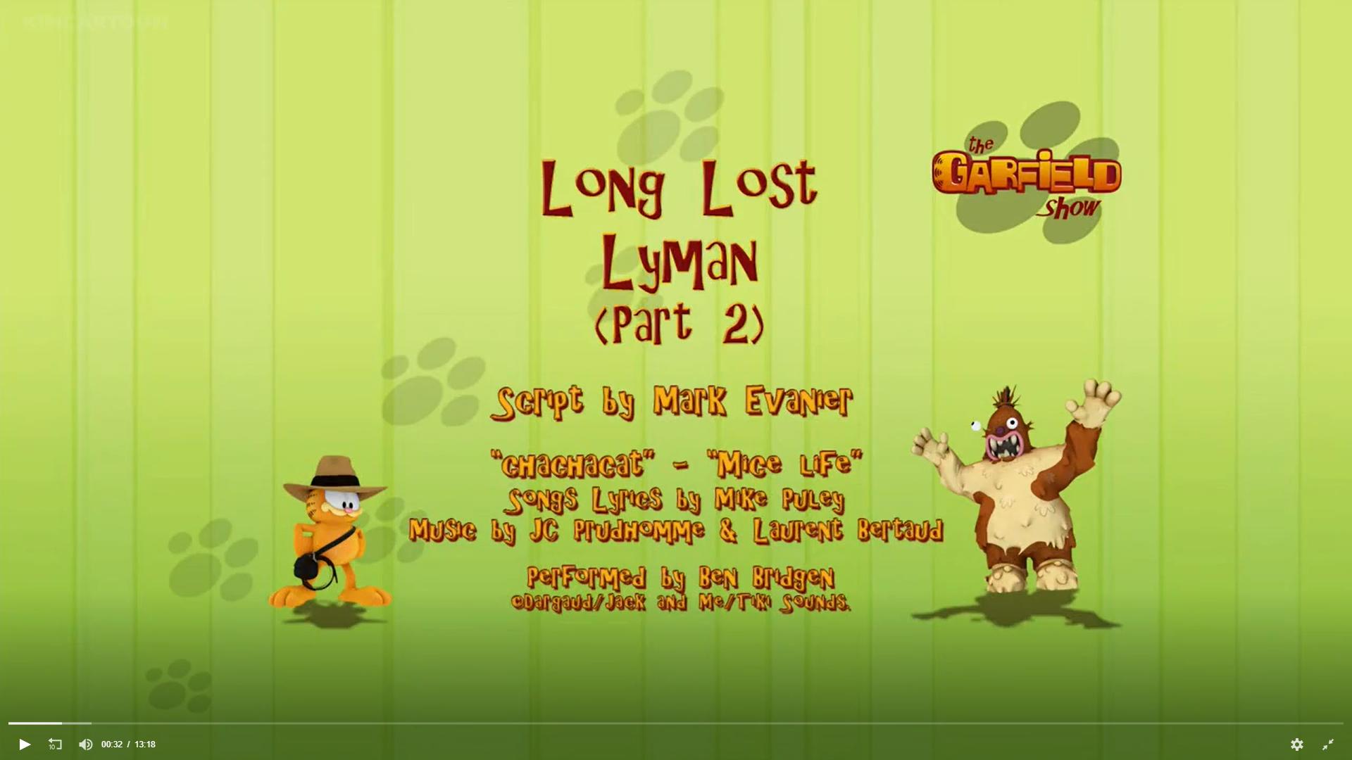 Long Lost Lyman Part 2