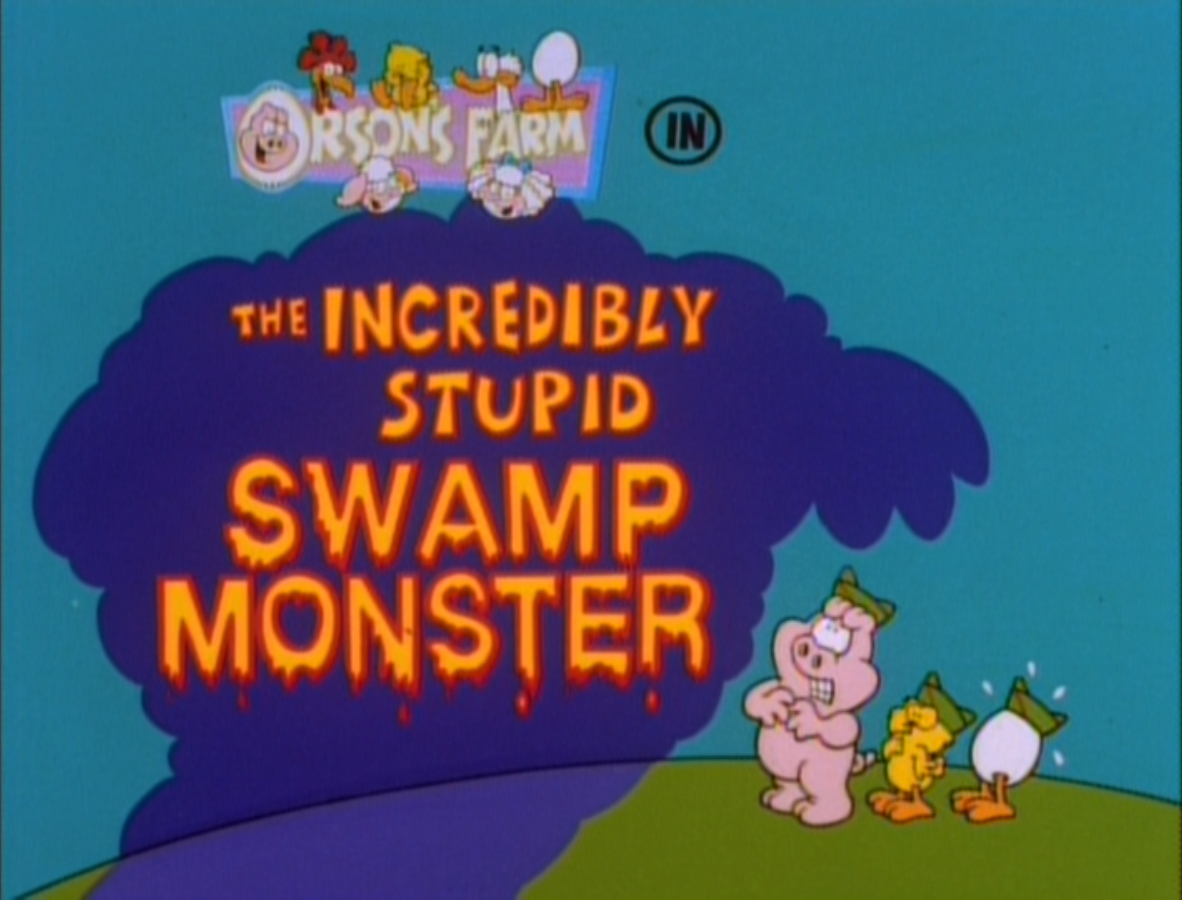The Incredibly Stupid Swamp Monster (episode)