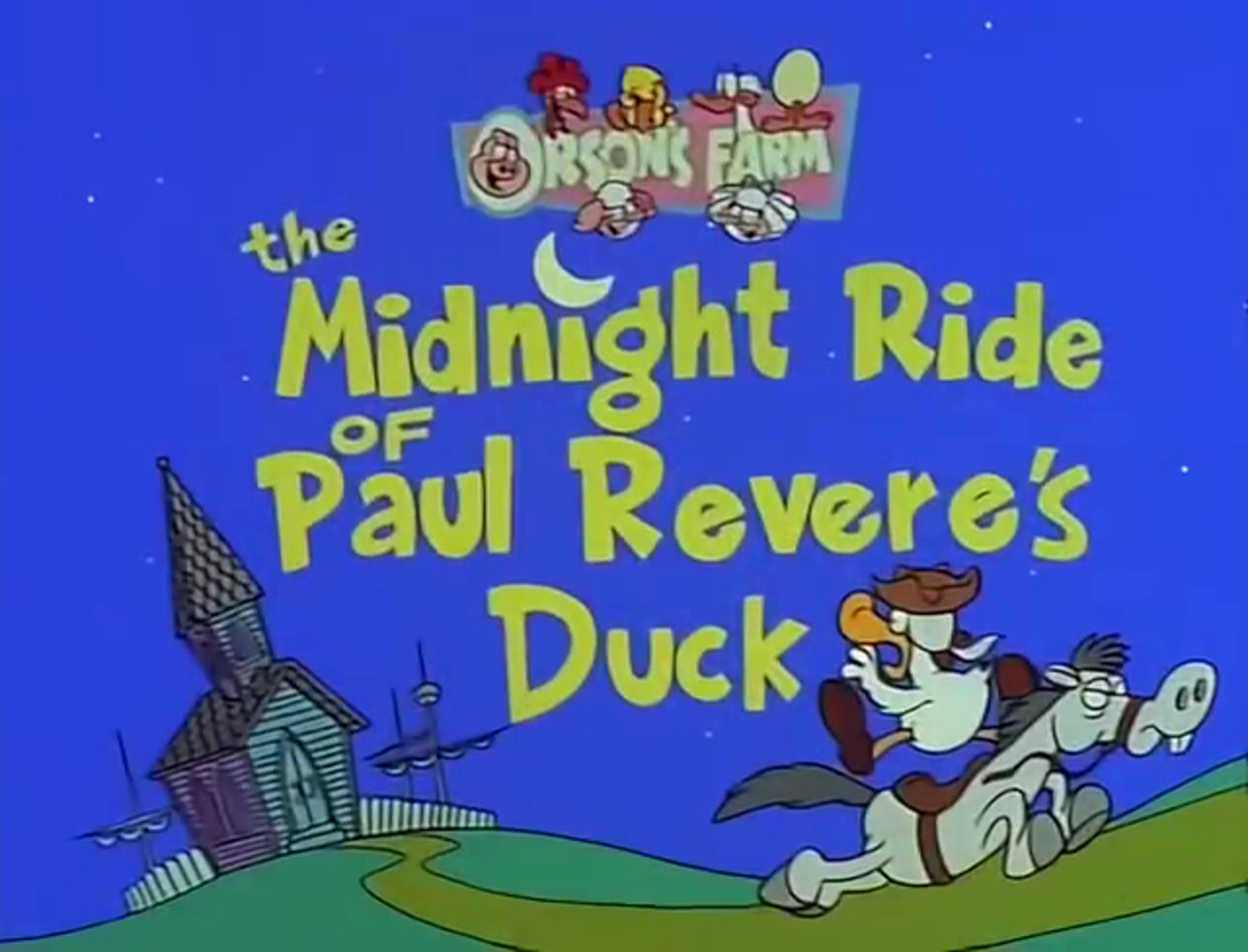 The Midnight Ride of Paul Revere's Duck